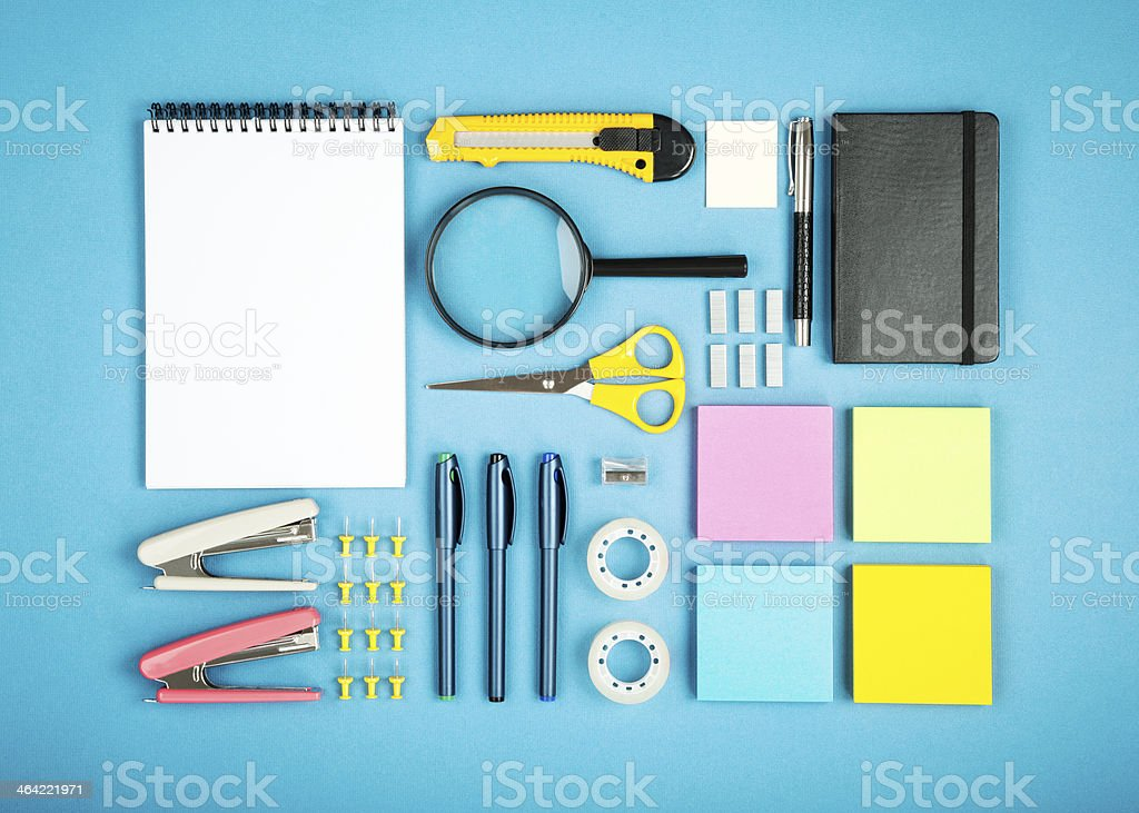 office supply concept stock photo