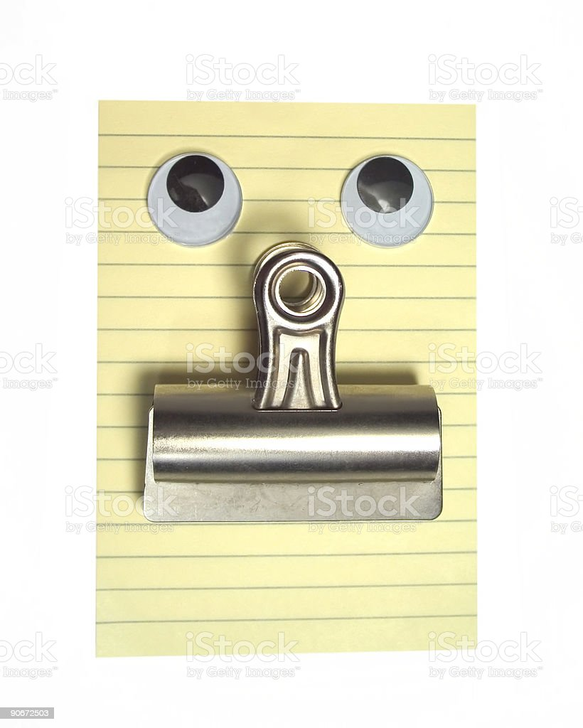 Office Supply Man royalty-free stock photo