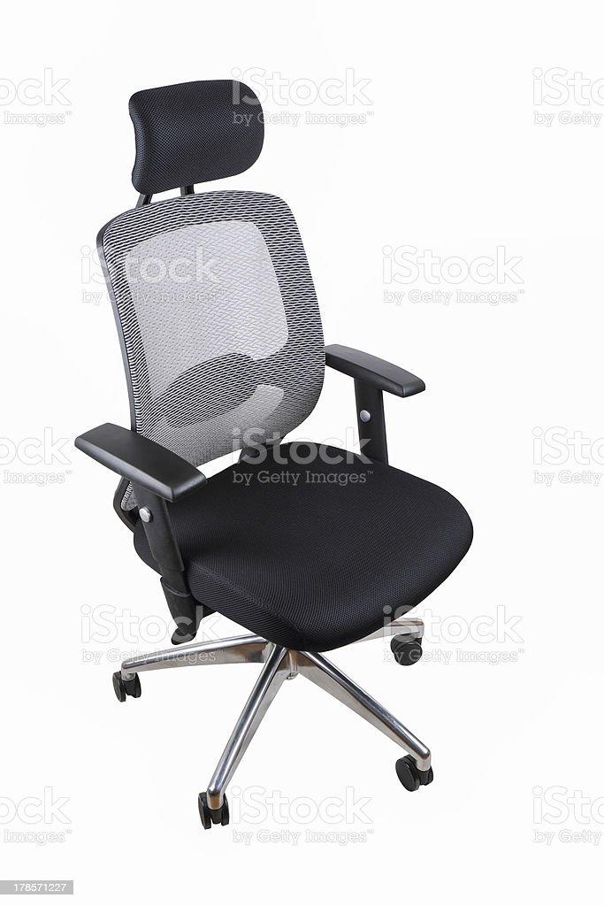 office swivel chair stock photo