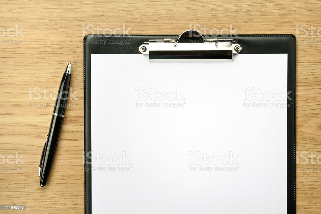 Office table royalty-free stock photo