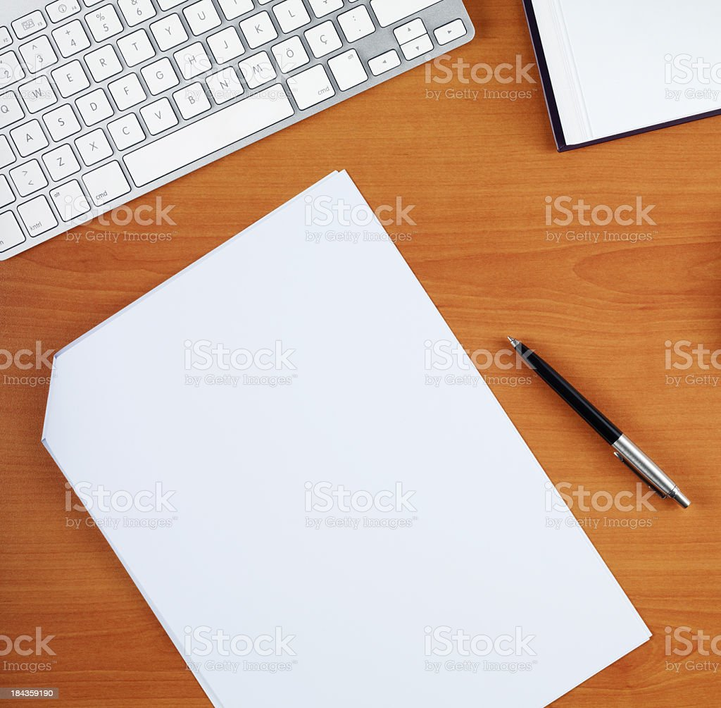 Office Table stock photo