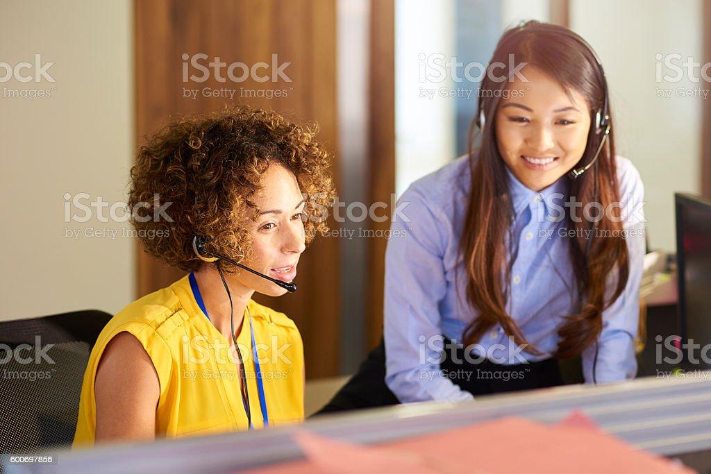 office teamwork stock photo
