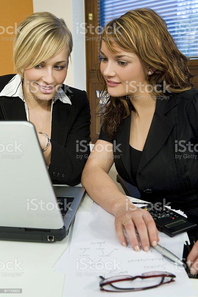Office Teamwork royalty-free stock photo