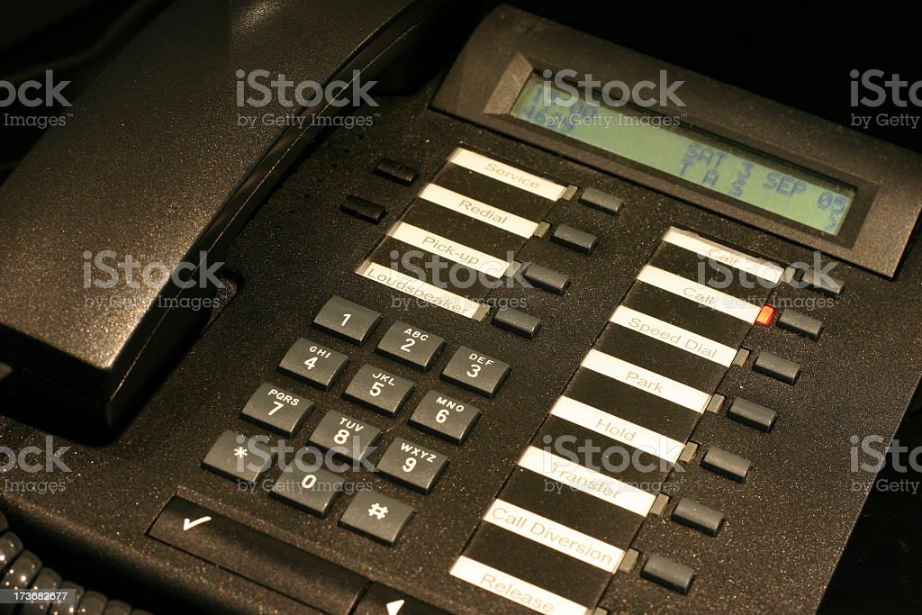 Office Telephone - Closer royalty-free stock photo