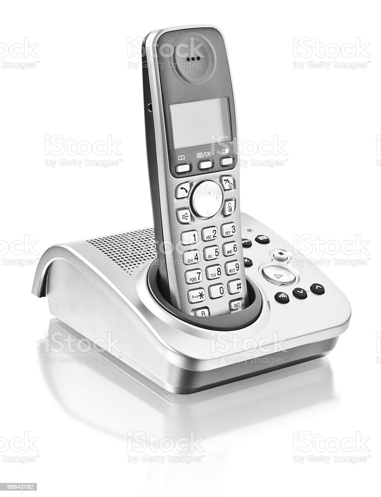 office telephone royalty-free stock photo