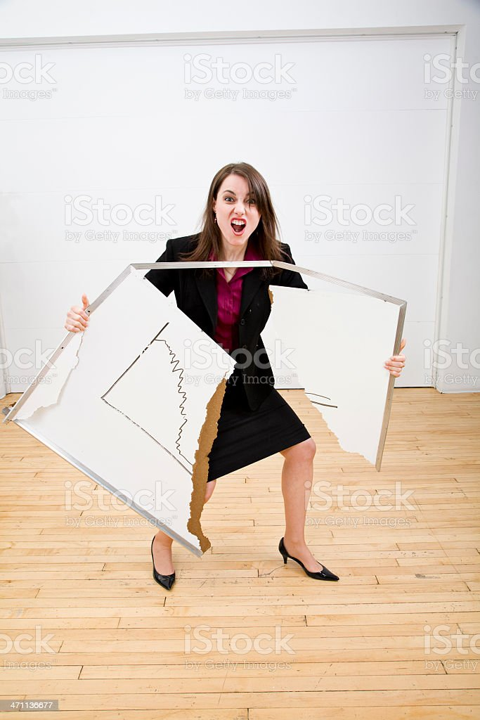 Office Temper royalty-free stock photo