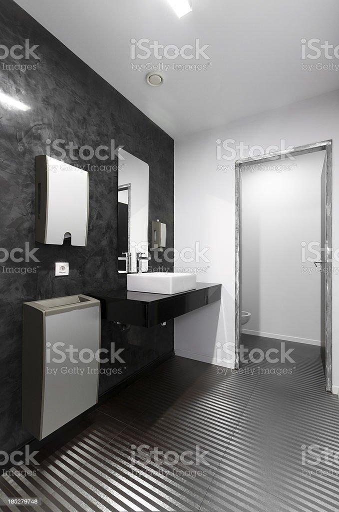 Office toilet stock photo