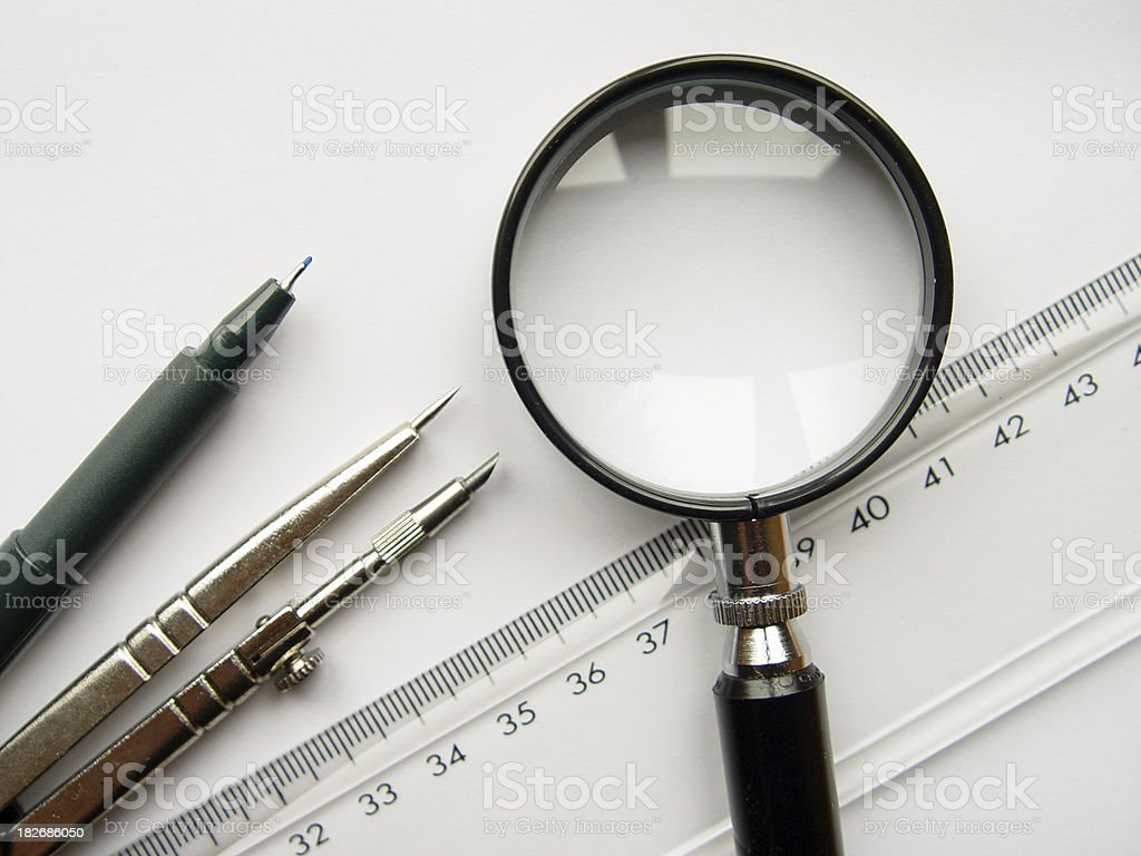 Office tools royalty-free stock photo