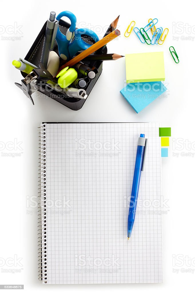 Office tools stock photo