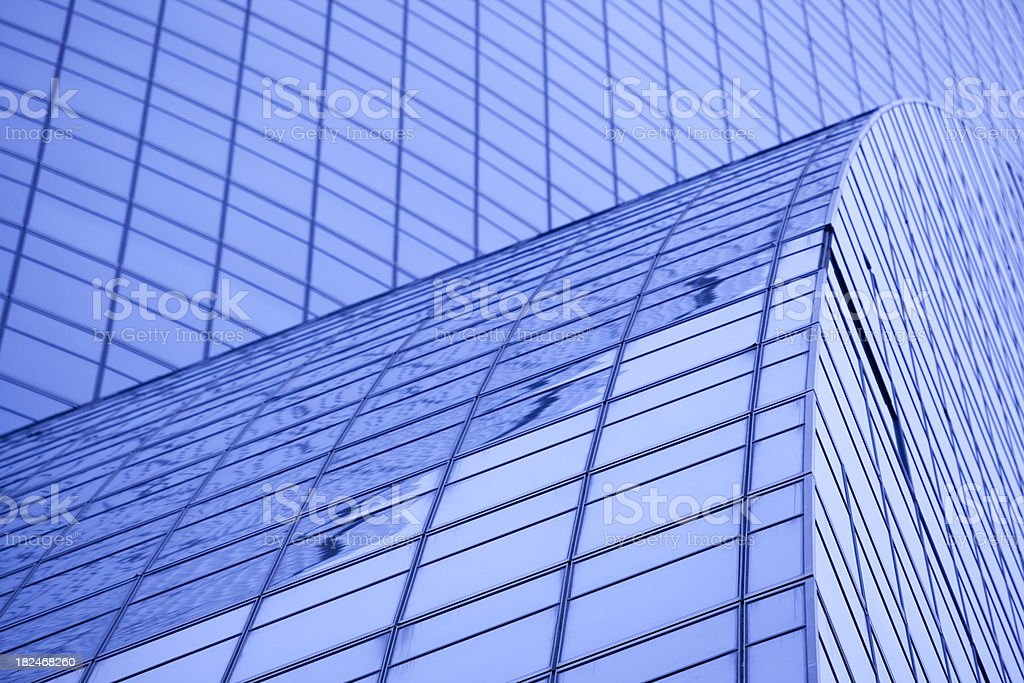 Office tower building exterior window as background, pattern royalty-free stock photo