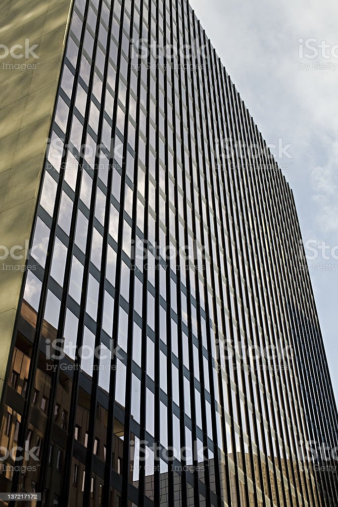 Office tower detail royalty-free stock photo