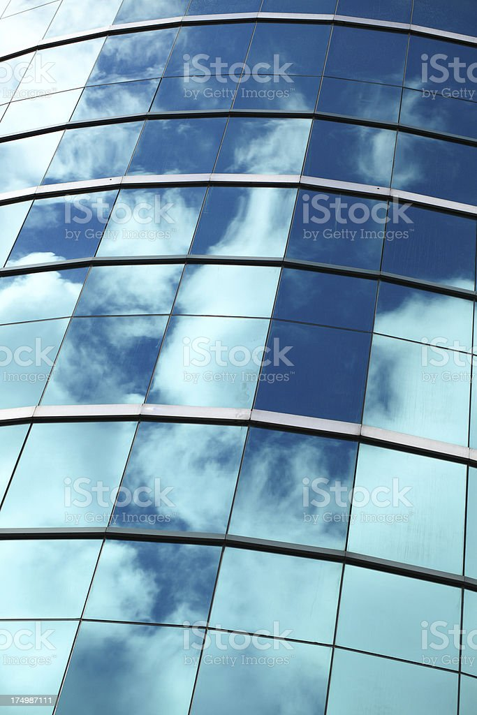 Office Tower Reflection royalty-free stock photo