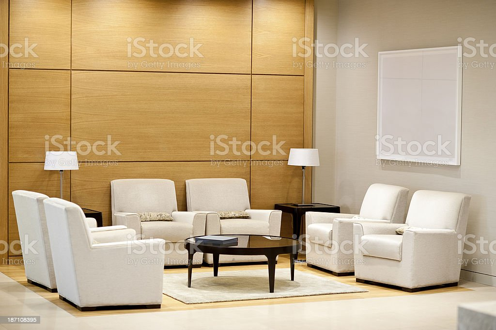Office Waitng Area stock photo