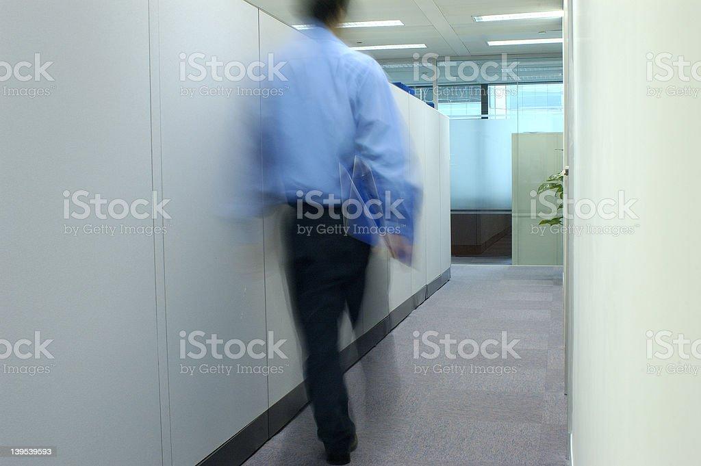 Office walker 2 -  series royalty-free stock photo