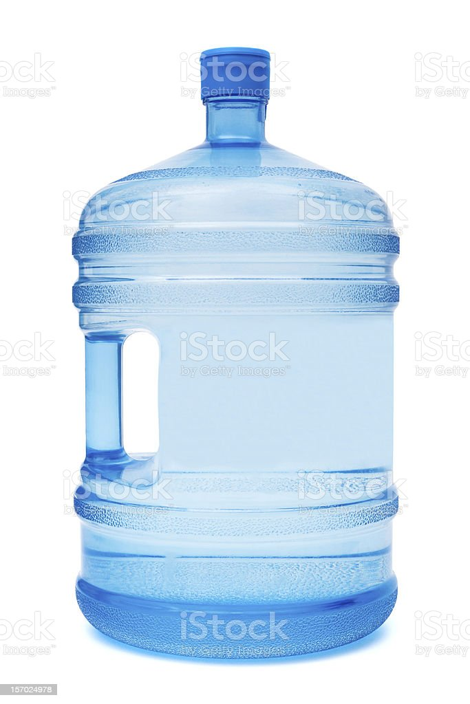 Office water cooler jug for drinking royalty-free stock photo