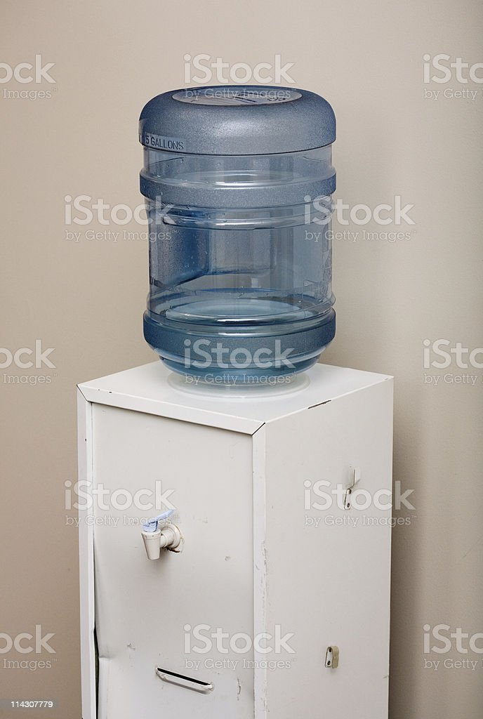 Office water cooler (XLarge) royalty-free stock photo