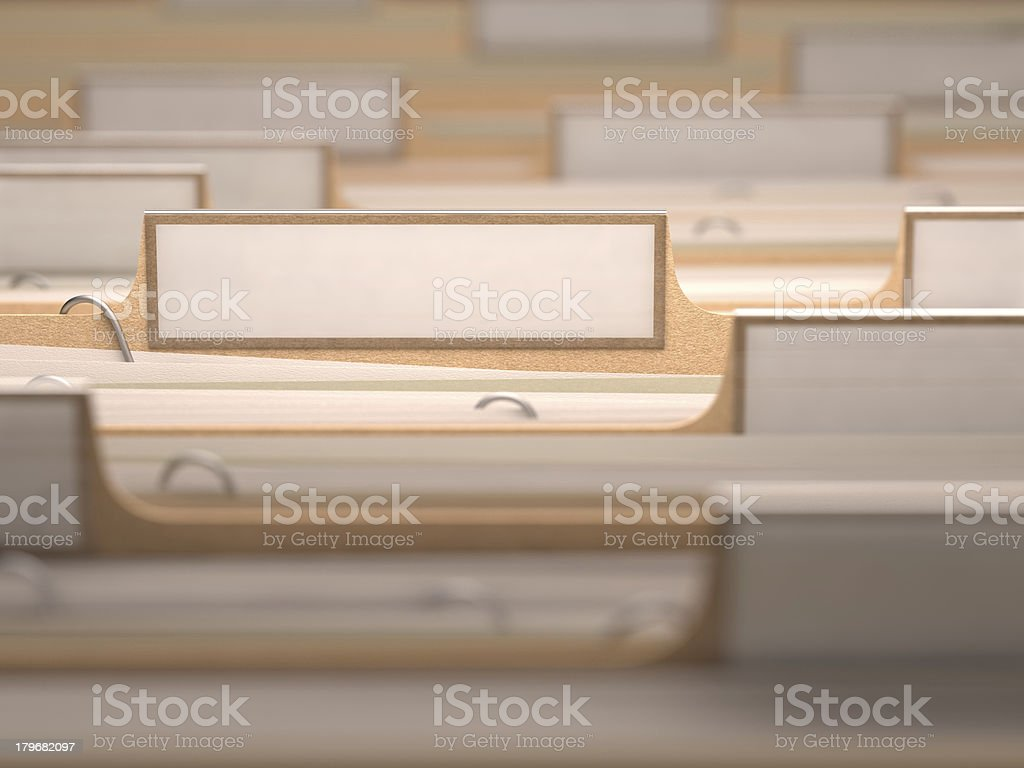 Office White Label stock photo