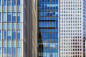 Office Windows in Canary Wharf