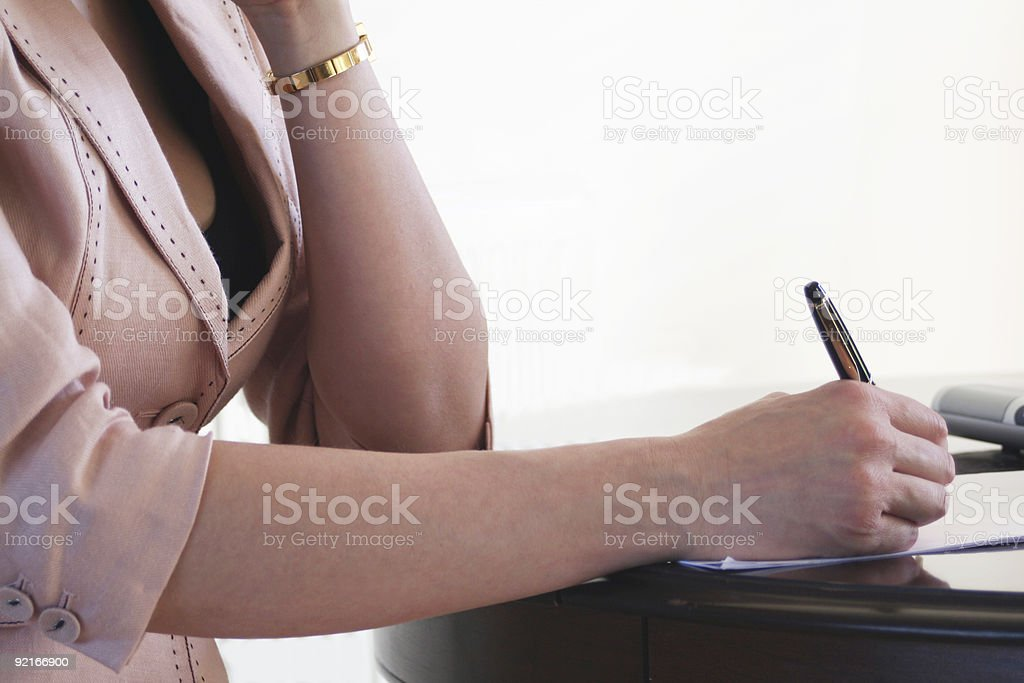 Office Woman royalty-free stock photo