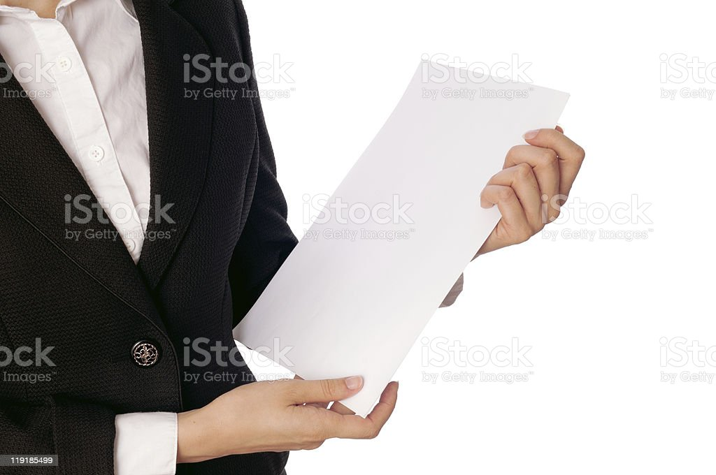 Office work royalty-free stock photo