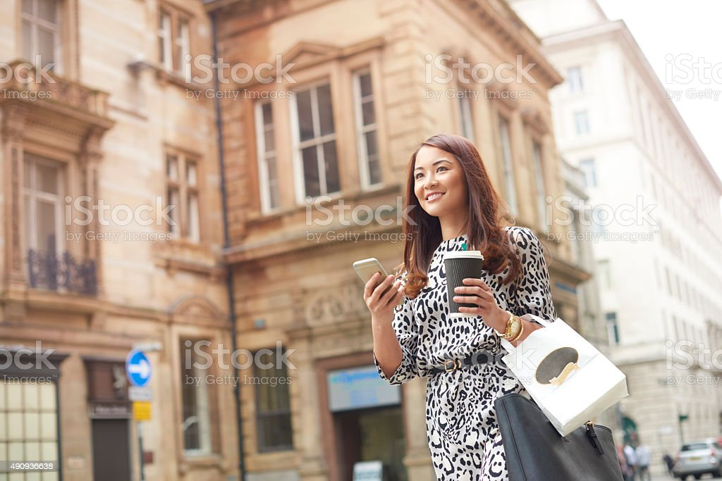 office worker commute stock photo