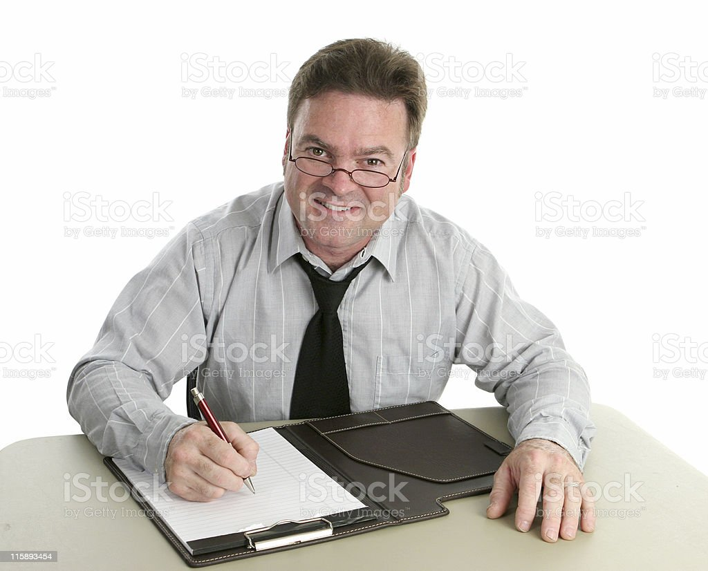 Office Worker - Helpful royalty-free stock photo