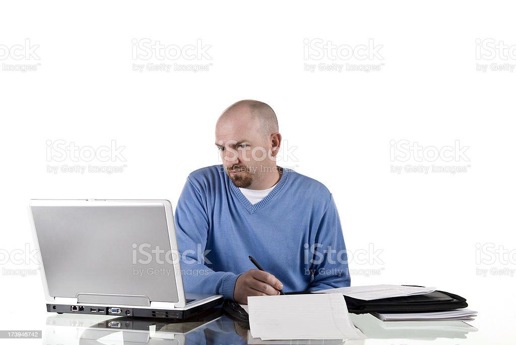 Büroberuf Lizenzfreies stock-foto