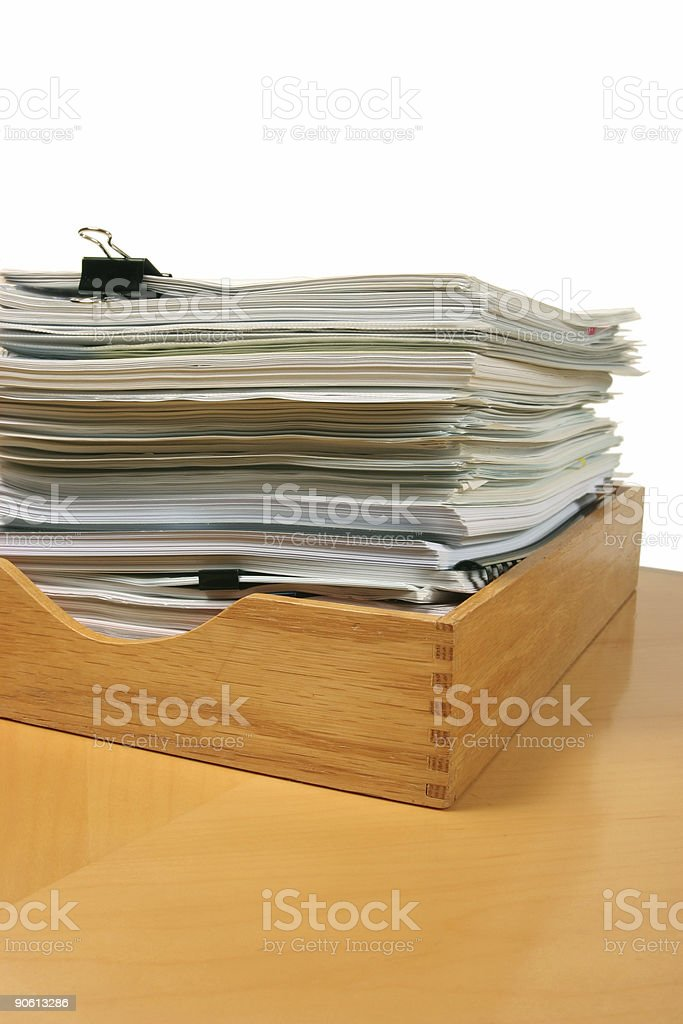 Office Workflow stock photo