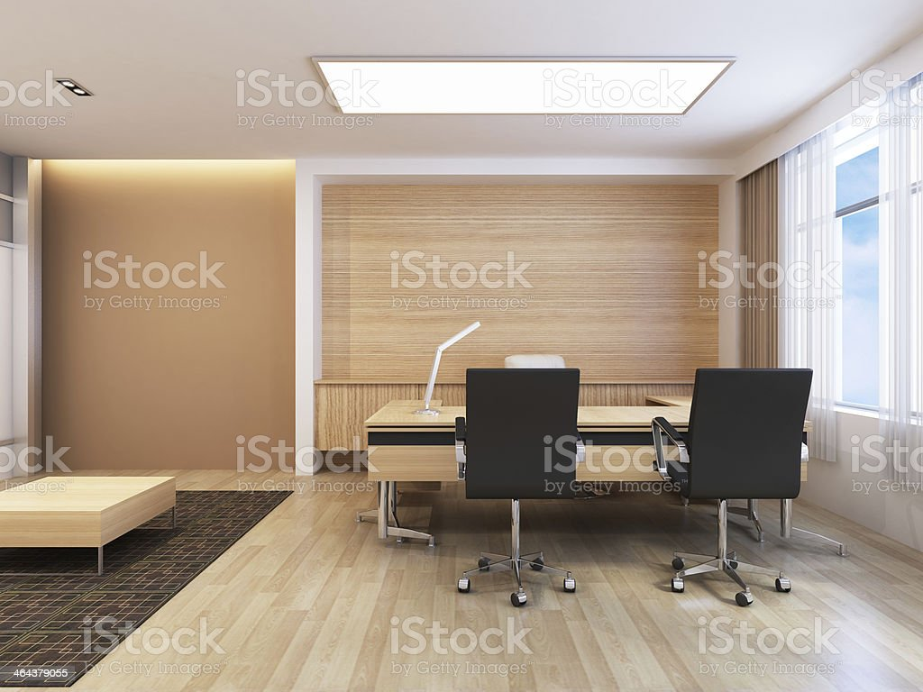 Office Working Area royalty-free stock photo