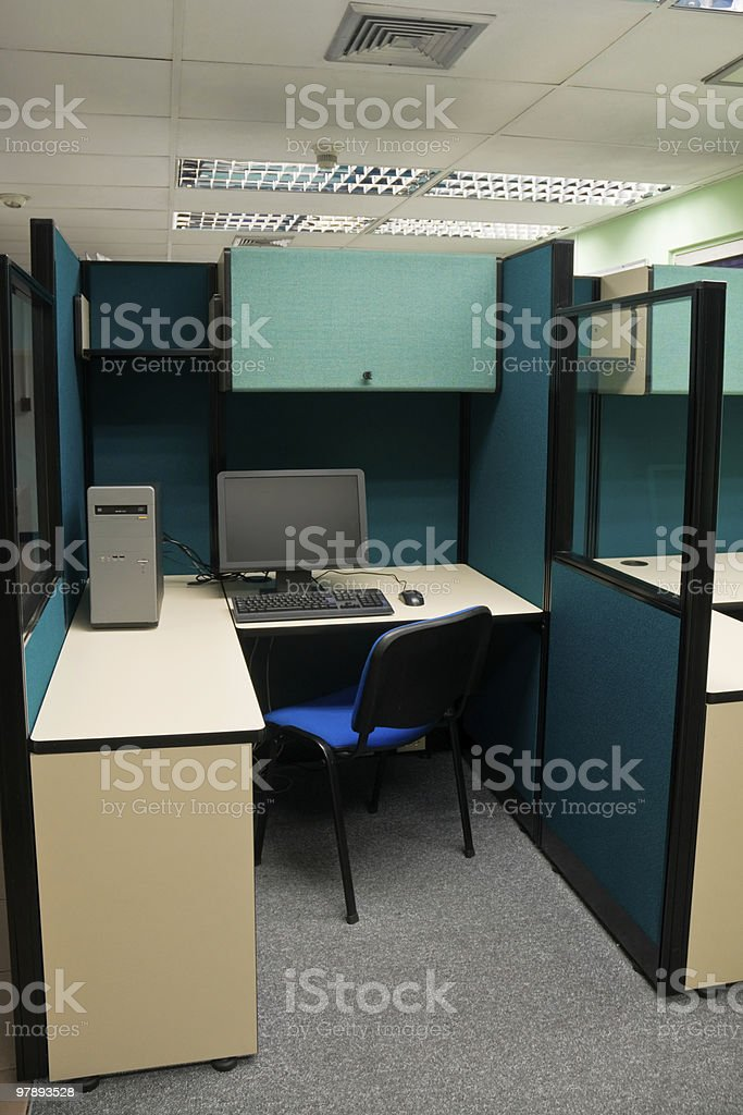 Office Workstation stock photo