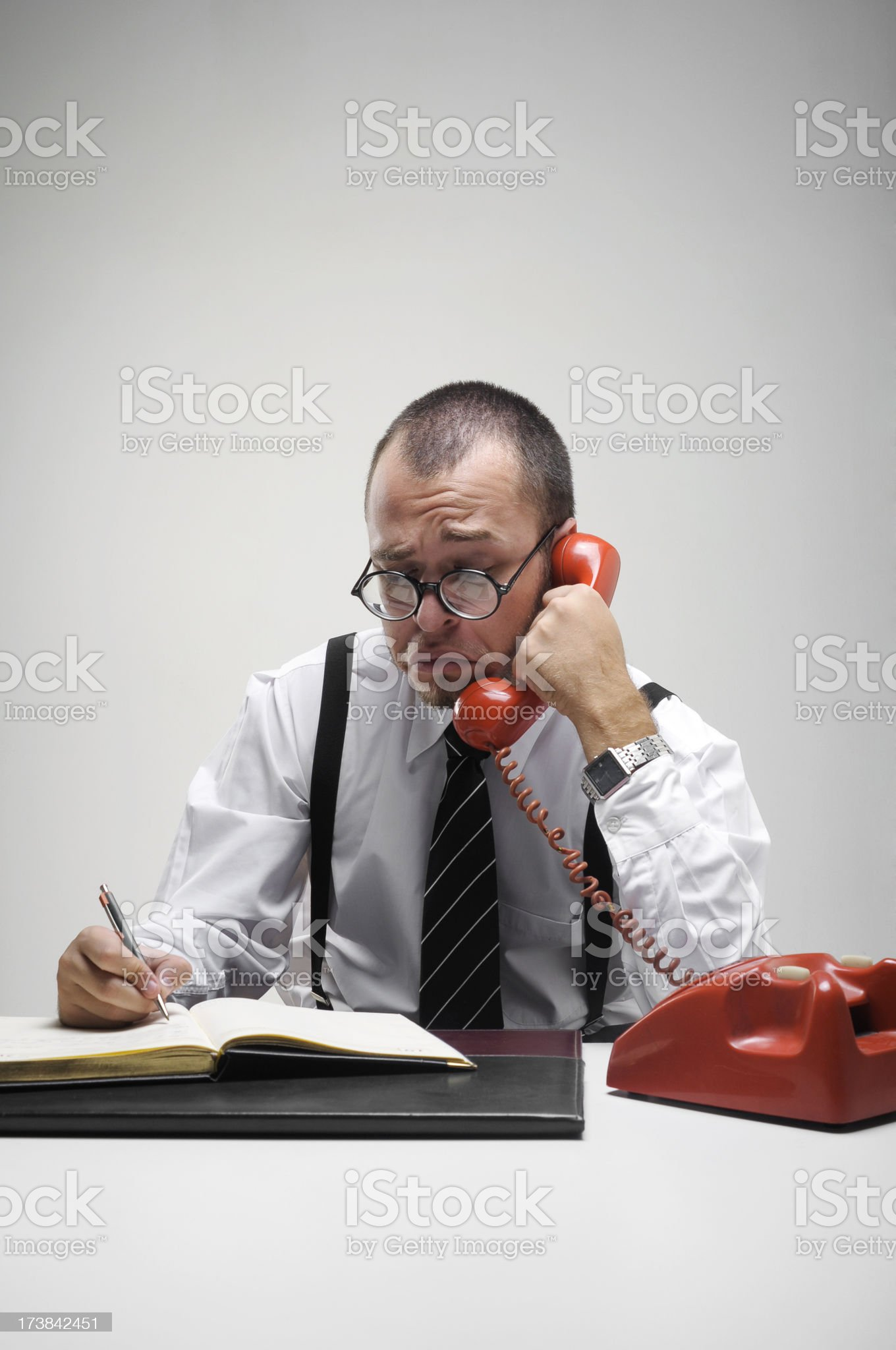 Officeman royalty-free stock photo