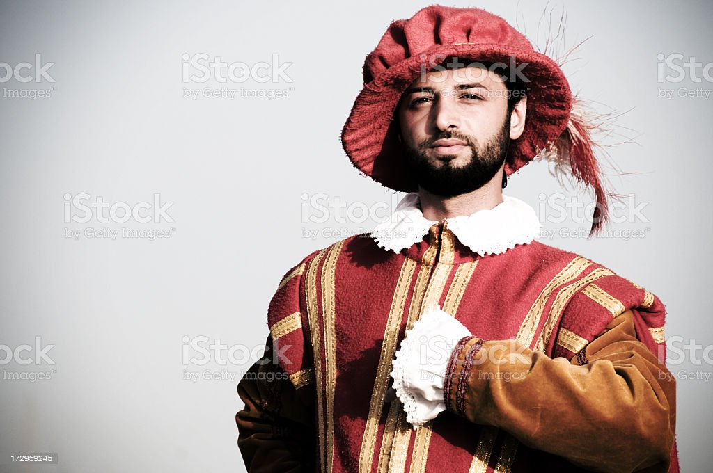 Officer in Guardia royalty-free stock photo