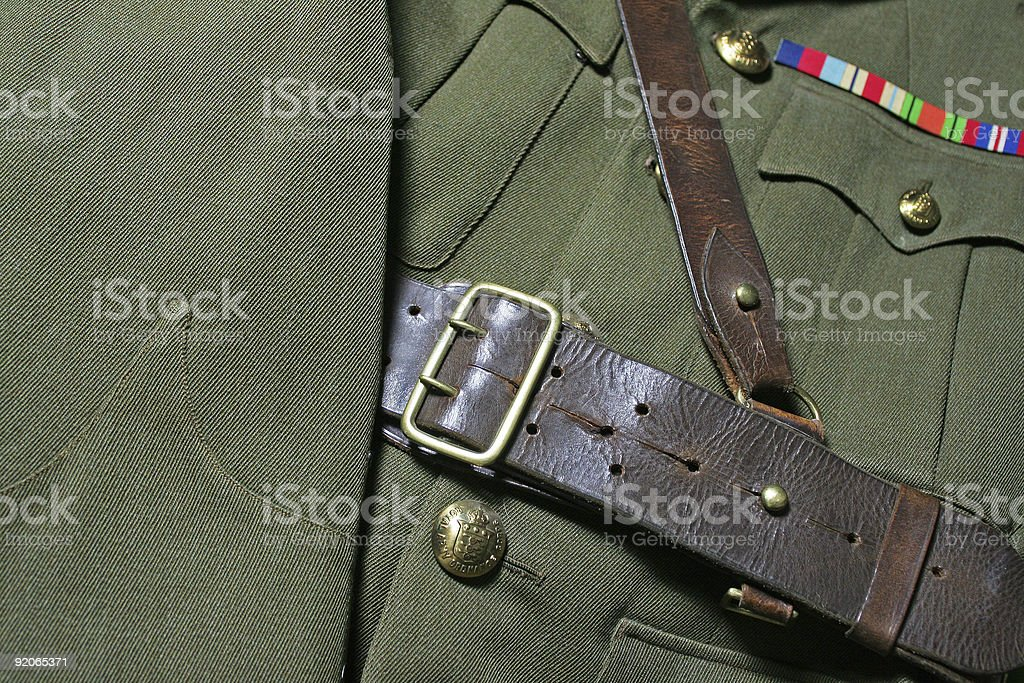 Officers Uniform royalty-free stock photo