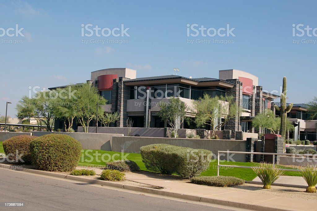 Offices in Southwest royalty-free stock photo