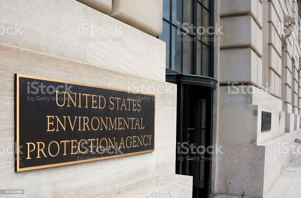 EPA Offices, Washington DC royalty-free stock photo