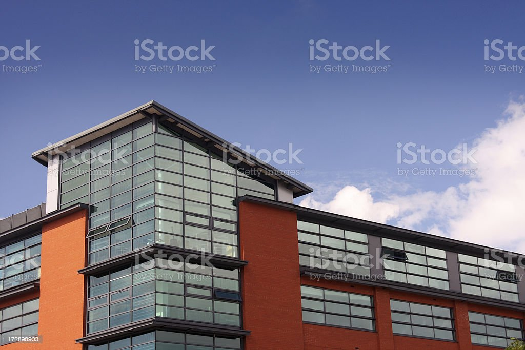 Offices with copy space royalty-free stock photo