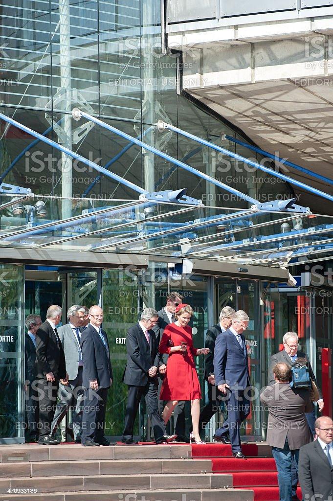 Official Visit to Strasbourg - Royal Visit stock photo