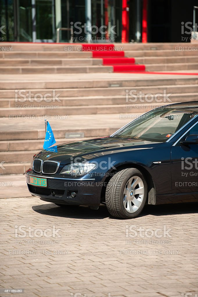 Official Visit to Strasbourg - Royal Visit stock photo