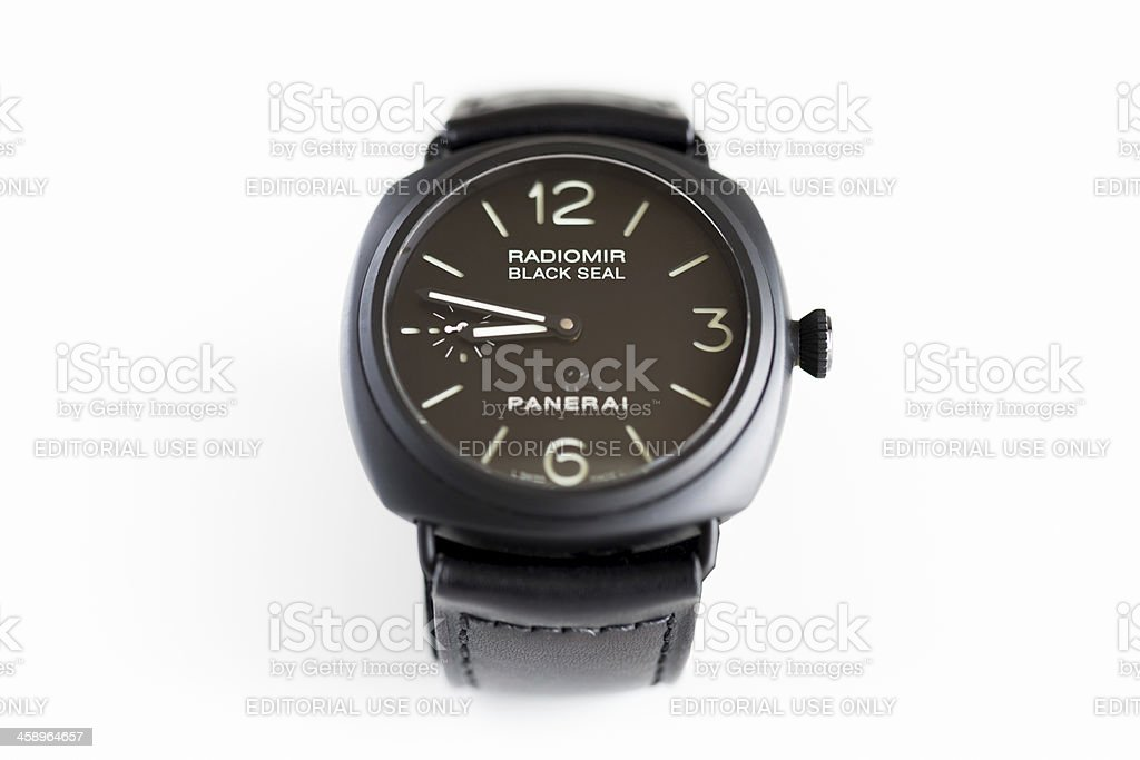 Officine Panerai Black Seal PAM292J Radiomir Ceramic Watch stock photo