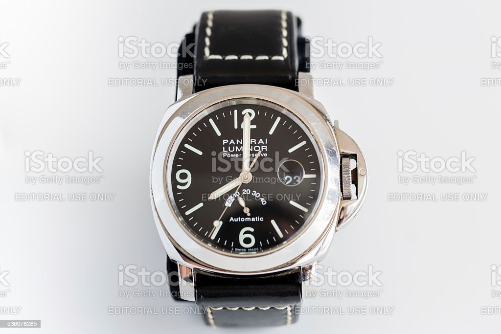 Officine Panerai Luminor PAM27 Power Reserve B Series stock photo