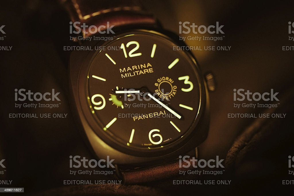 Officine Panerai Marina Militare PAM339 Radiomir Composite 8 Giorni stock photo