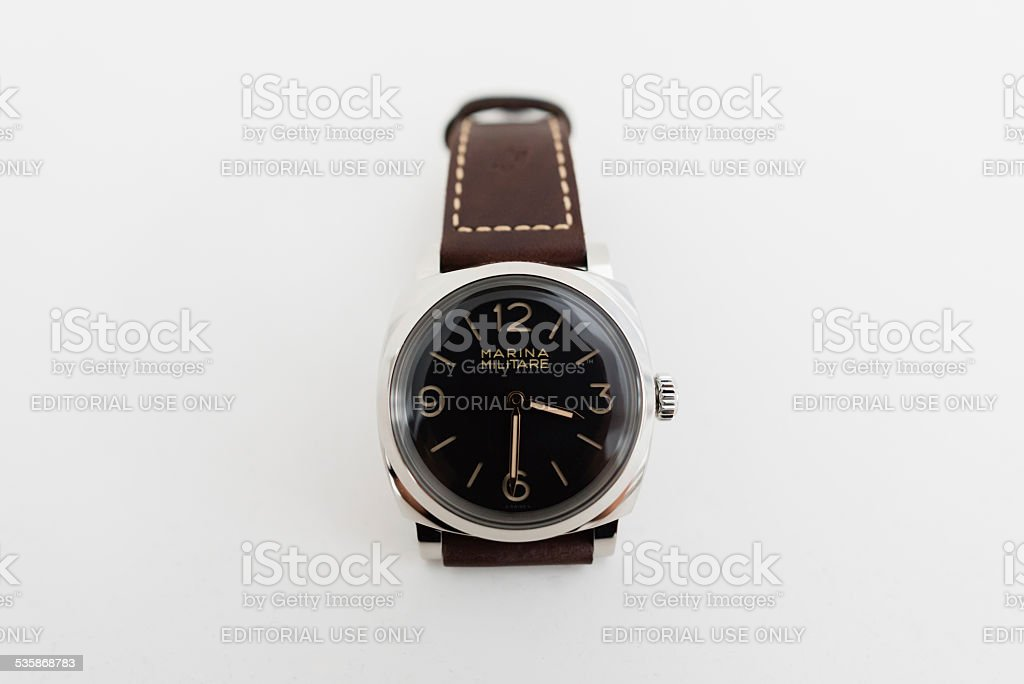 Officine Panerai PAM587 Marina Militare Radiomir 1940 stock photo