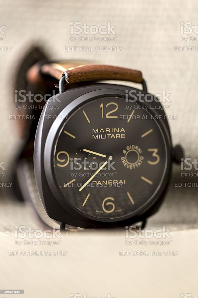 Officine Panerai Radiomir Composite Marina Militare PAM339 8 Giorni stock photo