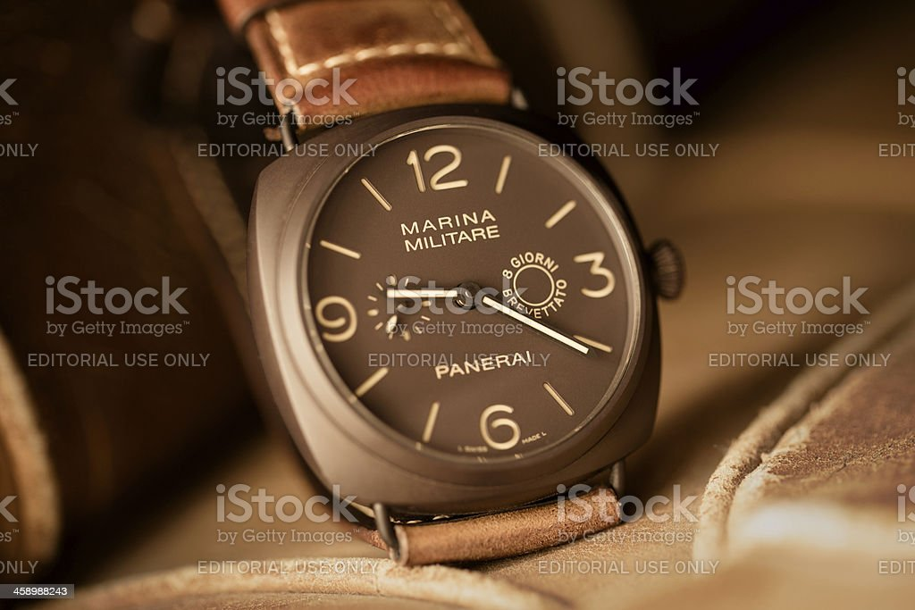 Officine Panerai Radiomir Composite PAM 339 Marina Militare 8 Giorni stock photo