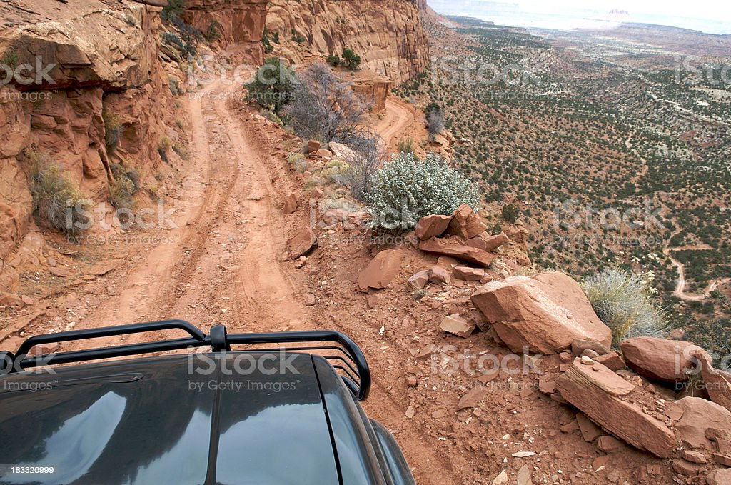 Off-Road 4x4 in Utah royalty-free stock photo