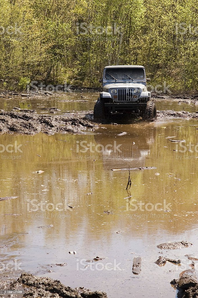 Offroad 4x4 stock photo