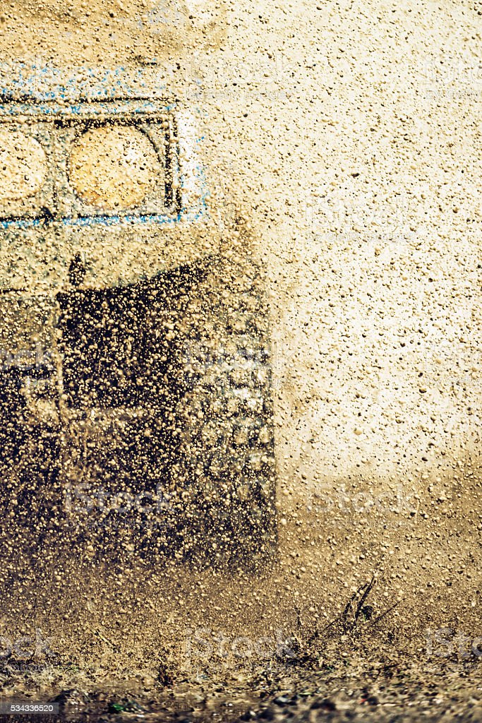 off-road 4x4 stock photo