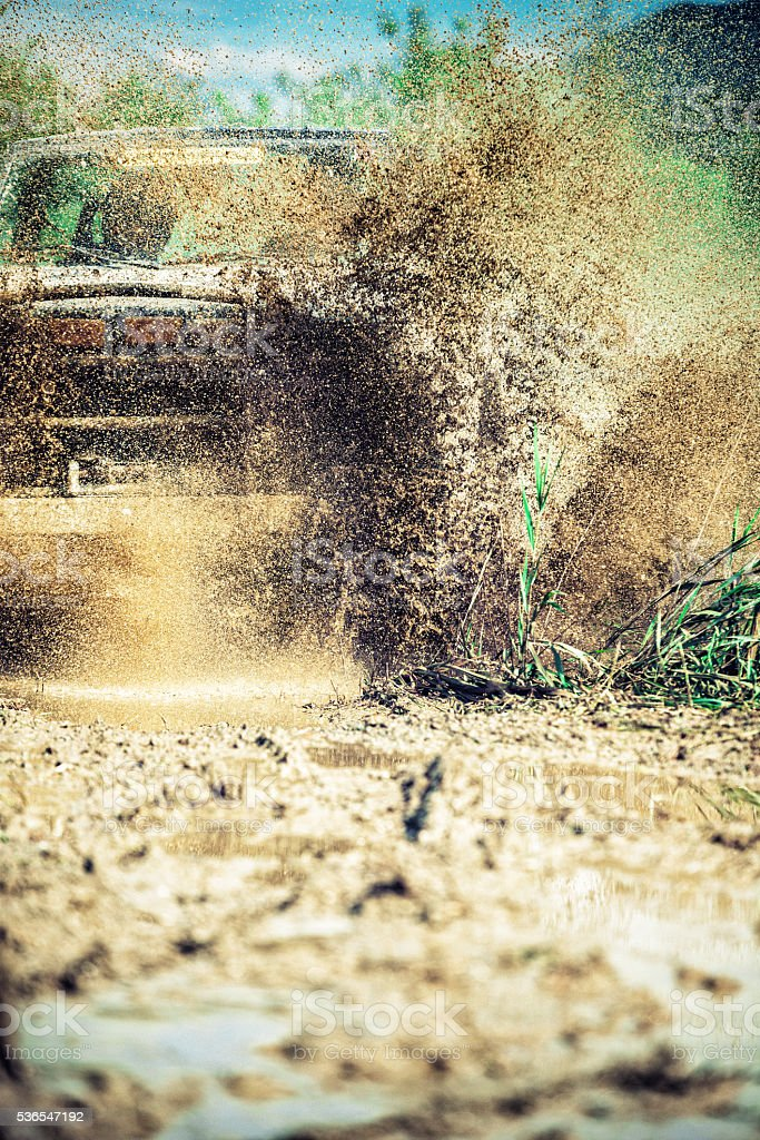 off-road 4x4 stock photo