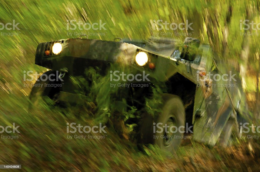 Off-road Action royalty-free stock photo