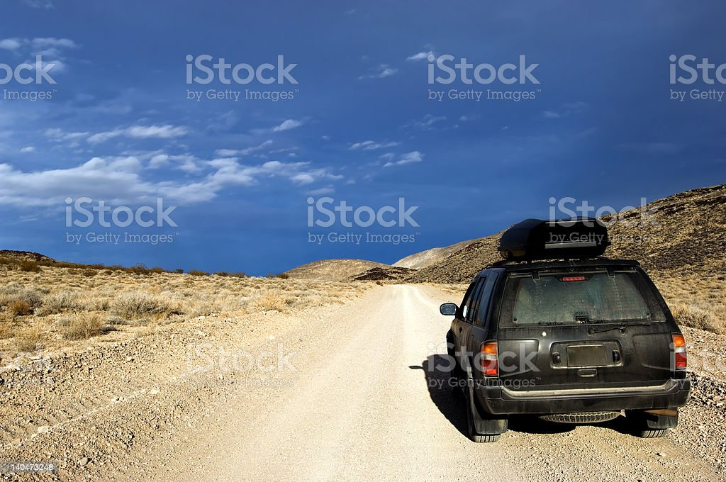 Offroad adventure stock photo